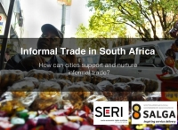 SERI and SALGA launch two new research publications on cities' duties to informal traders